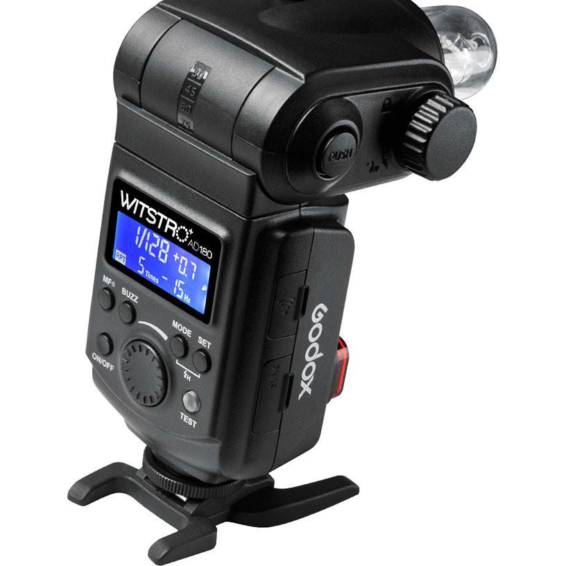 Godox Witstro AD180 180W Cheetah Bare Bulb HSS Flash with PB960 Battery Kit