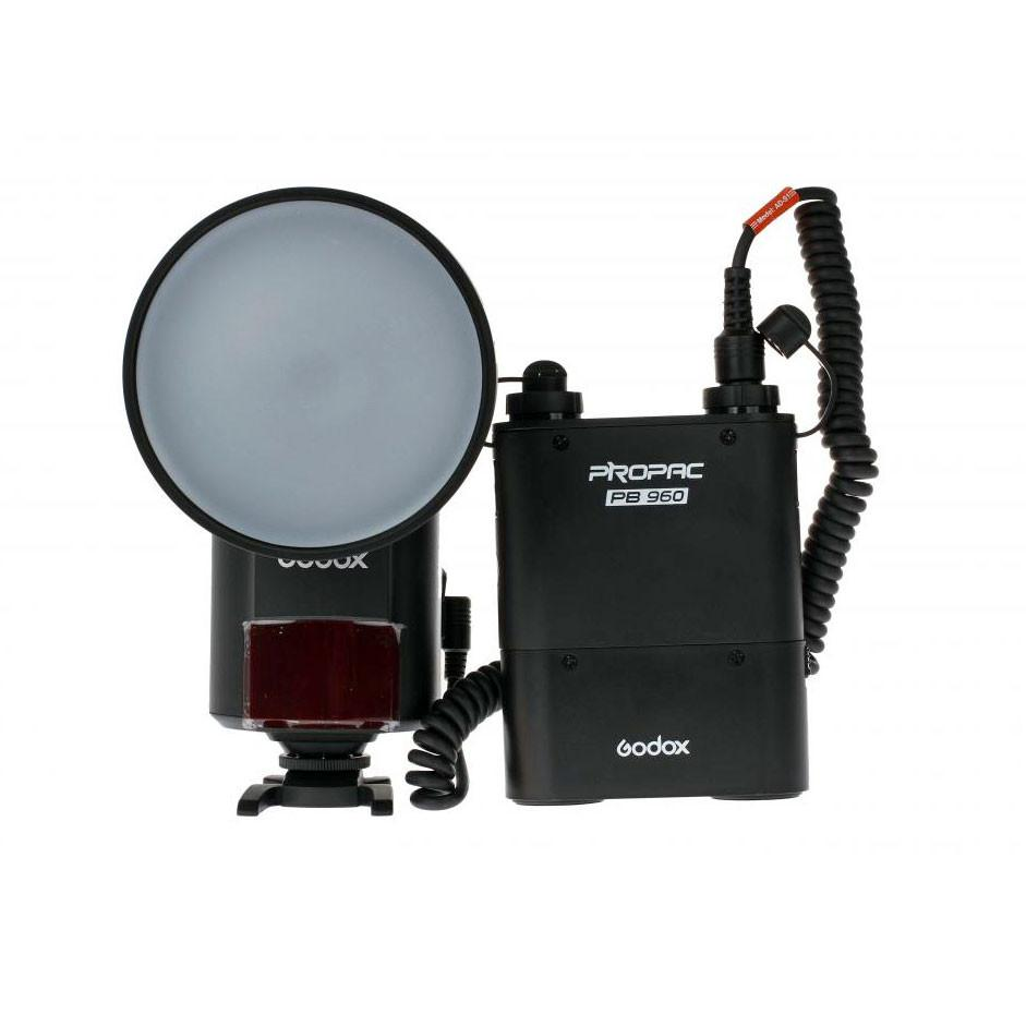 Godox Witstro AD360 360W Bare Bulb HSS Flash Speedlite and Battery Kit