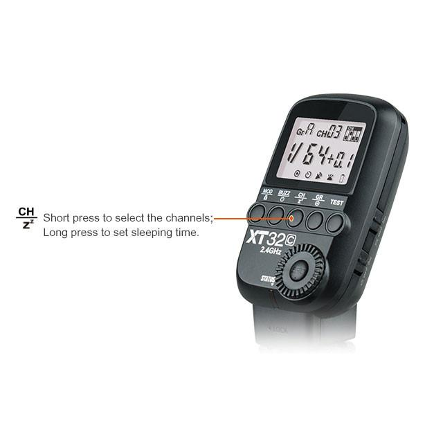 Godox XT32 Remote Manual HSS Transmitter for Canon