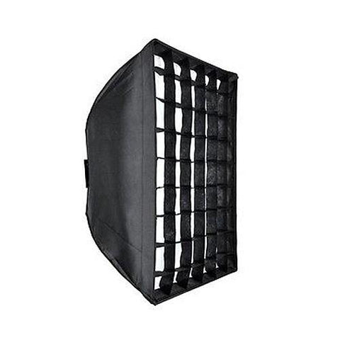Godox Collapsible Softbox with Grid 90x90cm Bowens Mount For Studio Strobe Flash Lighting