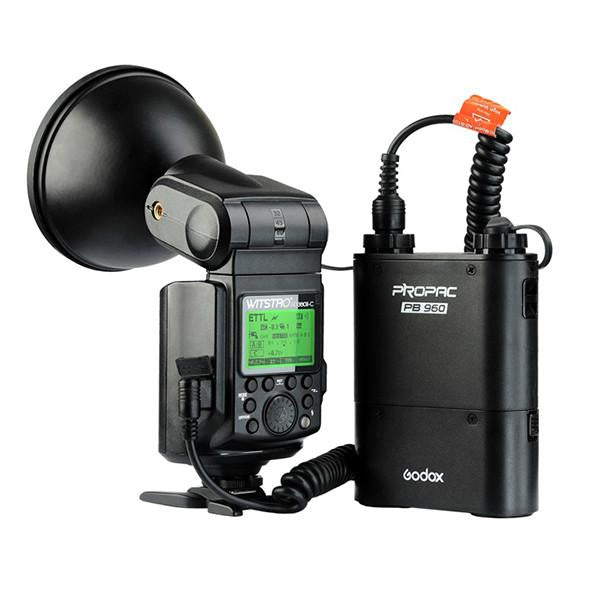 Godox Witstro AD360II-C 300W Cheetah Bare Bulb HSS Flash with PB960 Battery Kit