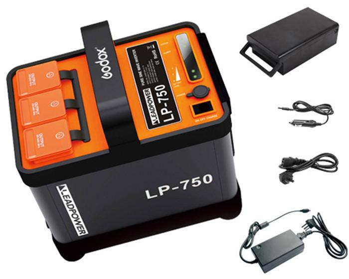 Godox LP-750 Portable Output Inverter Power Battery for Outdoor 220V (Ship in 7 days)