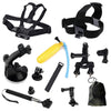 Hypop GoPro 9 in 1 Accessory Kit for Head Chest & Underwater