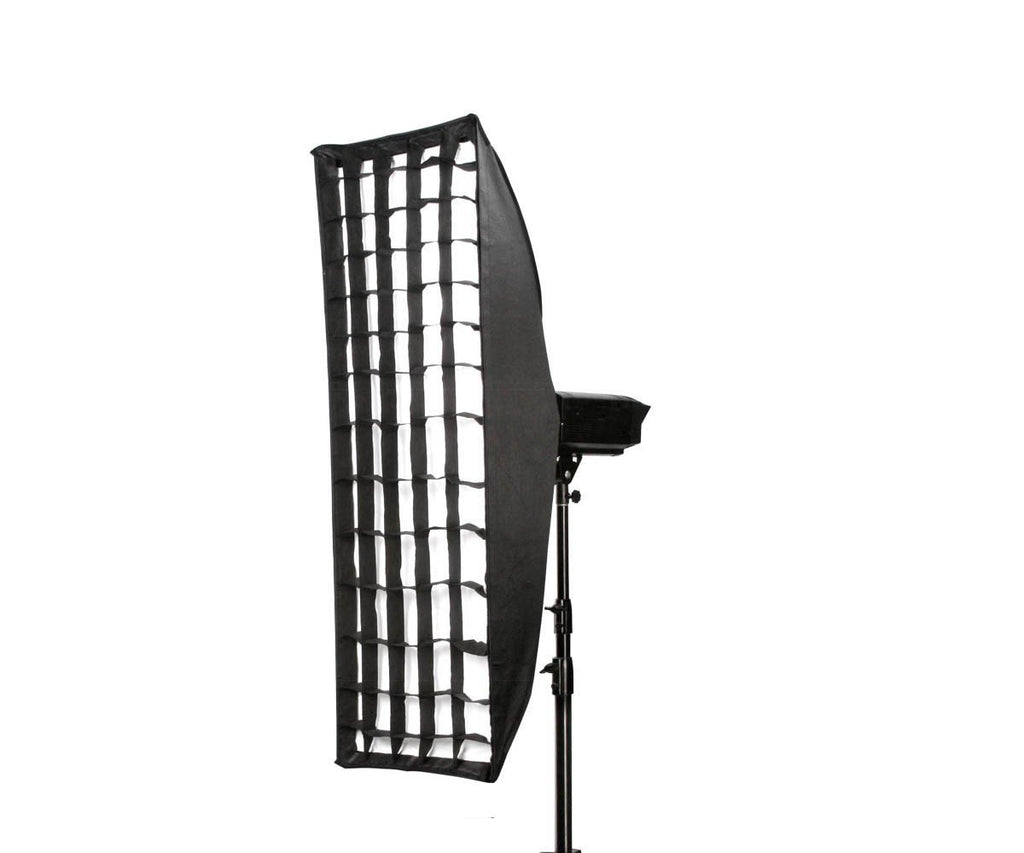 Hypop Rectangular Strip Soft Box With Grid (Bowens) (50cm x 160cm) exclude