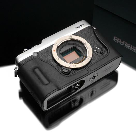 Gariz Black Leather Camera Half Case HG-XE2BK for Fujifilm XE1 X-E1 XE2 X-E2