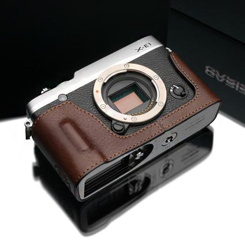Gariz Black Leather Camera Half Case XS-CHXE3BK for Fuji Fujifilm X-E3