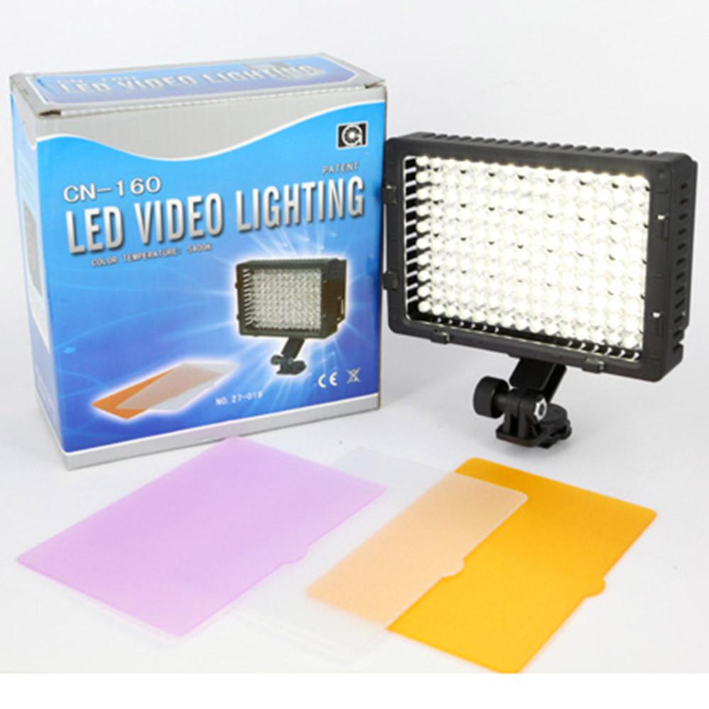 Hypop 160 Piece LED Camera Video Light (Filters Included) exclude