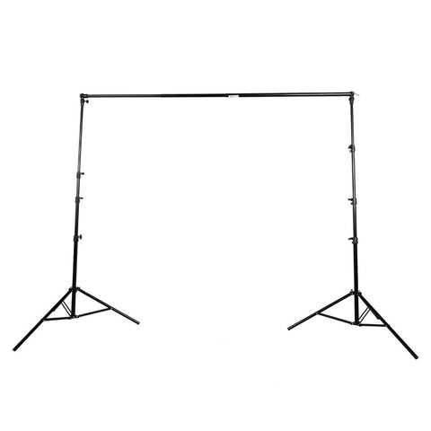 Backdrop Stand (2.8M x 3.0M) - Heavy Duty 8kg Load 4 Segment Crossbar