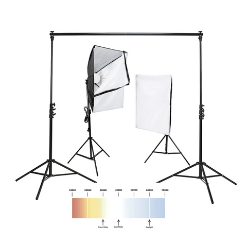 Hypop DIY Self-Tape Video Lighting Home Studio 'AUDITION' Kit