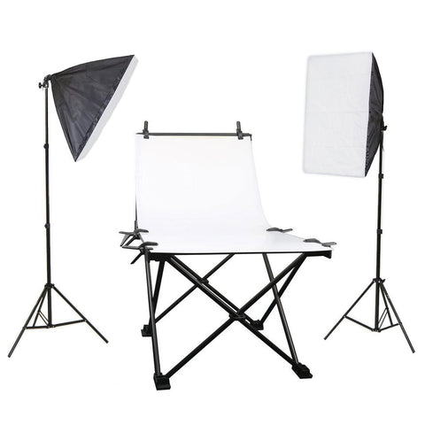 Hypop Large Product Photography Table Double Rectangle Softbox Kit (100 x 200CM)