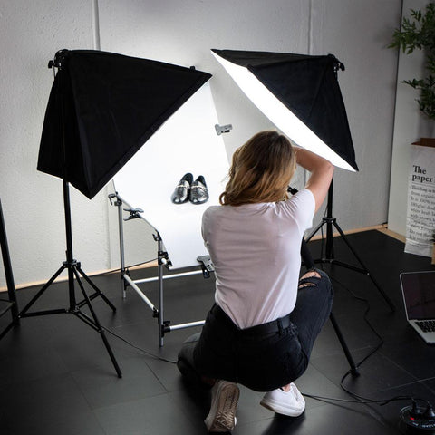 Hypop 40cm Complete Portable Product Photography Kit