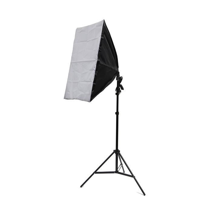 Small Professional Product Photography Table Double Softbox Kit (60 x 130CM Table)