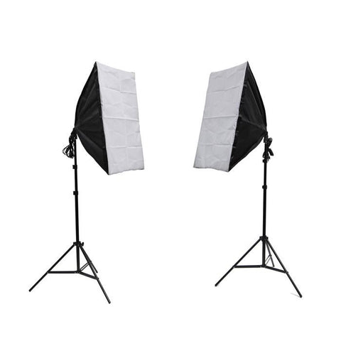 Hypop Double Rectangle Softbox Lighting Kit exclude