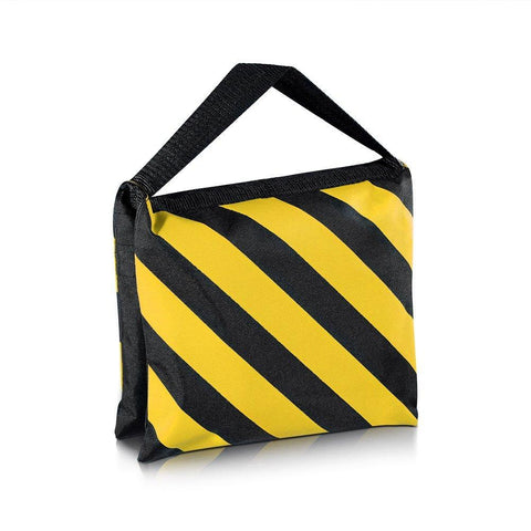 Hypop Heavy Duty 10kg Rated Yellow / Black Sandbag (Empty)