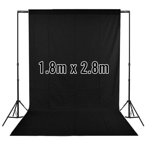 White / Black Double Sided Collapsible Pop Up Backdrop (1.5 x 2.1M)