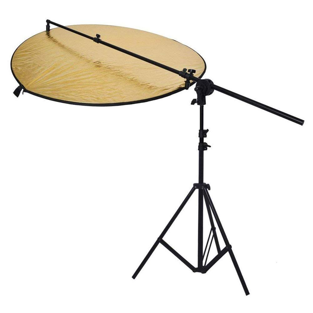 Hypop 80cm 5 in 1 Reflector With Stand and Boom Arm Kit
