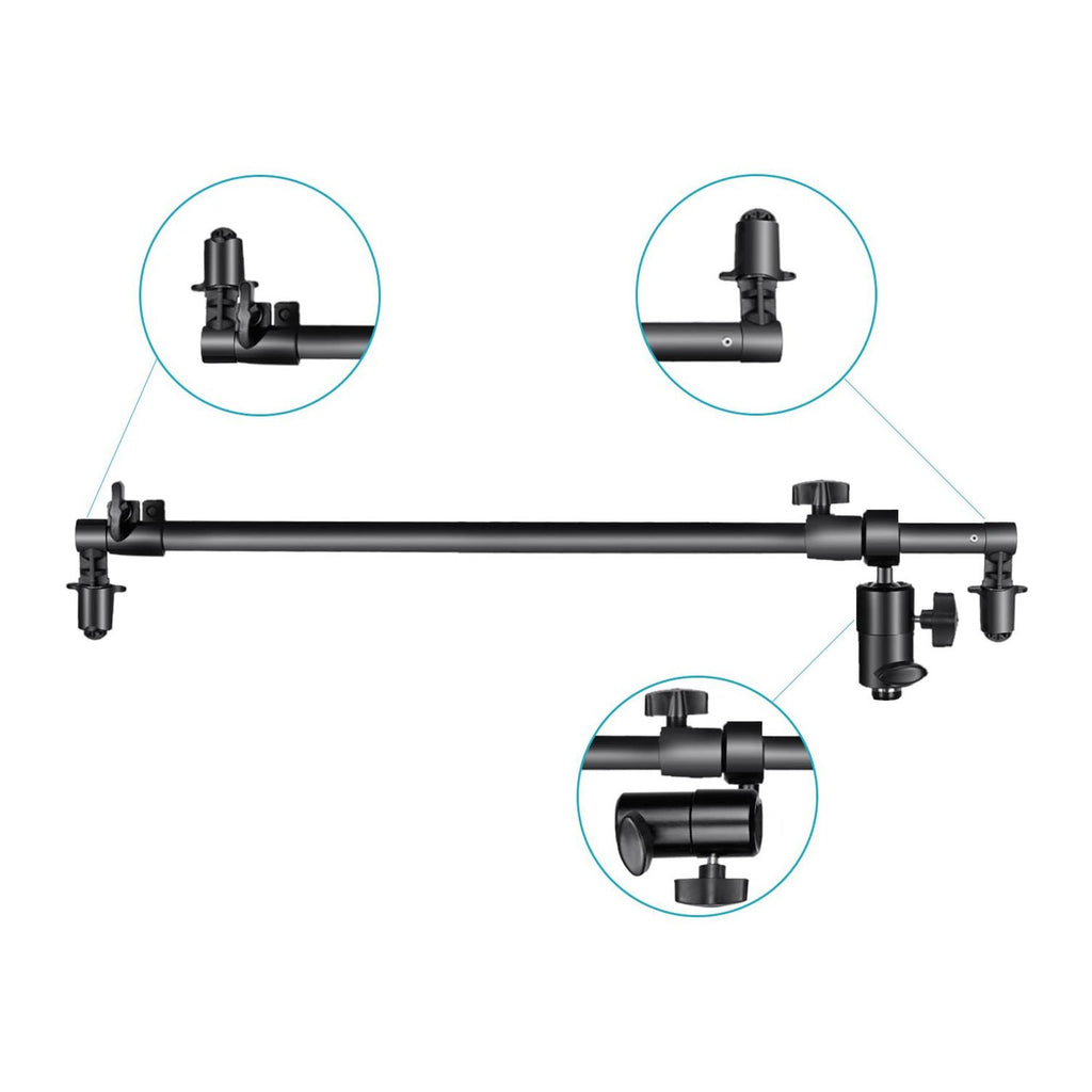 Studio Reflector Boom Arm (60-120cm) with Stand Mount