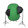 Hypop Double Rectangle Softbox with Pop Up Backdrop - YouTube Kit (YTK)