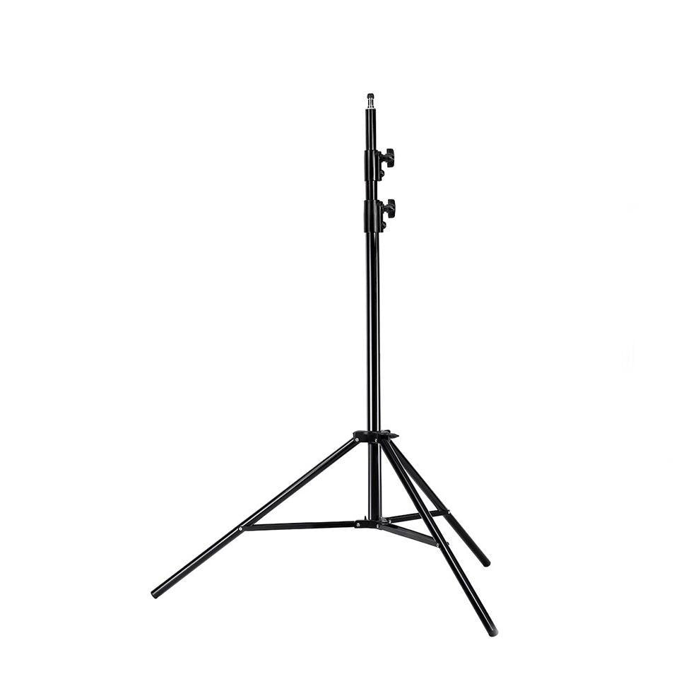 Hypop 260cm Spring Loaded Heavy Duty Light Stand