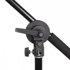 Hypop Multi Functional Grip Gobo Head Single Swivel Mounting Adaptor for Boom Arm