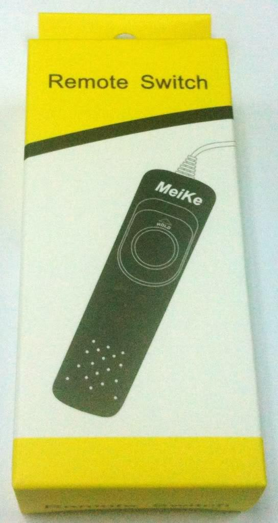 Meike remote switch MK-DC-C1 (Fits for Canon/Pentax/Contax)