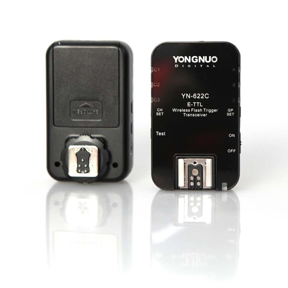 Yongnuo YN622C Wireless Flash Trigger Transreceiver for Canon (Pair)