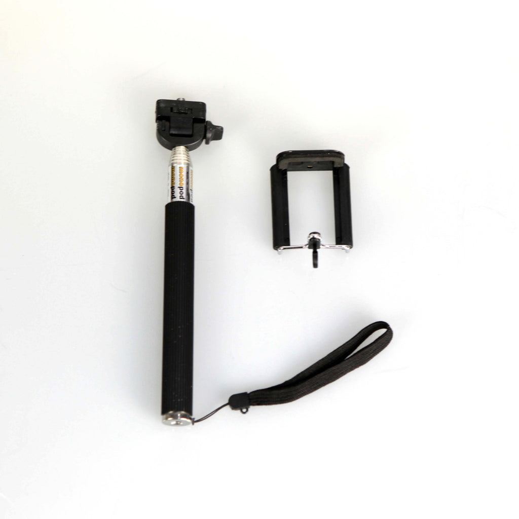 Universal Monopod Extendable Selfie Stick with Bluetooth Shutter Remote Control