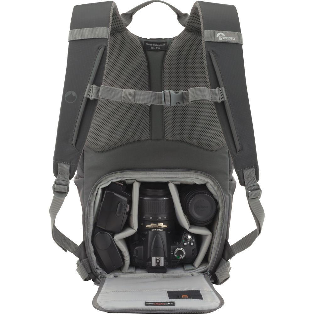 Lowepro Photo Hatchback 16L AW Backpack (Gray)