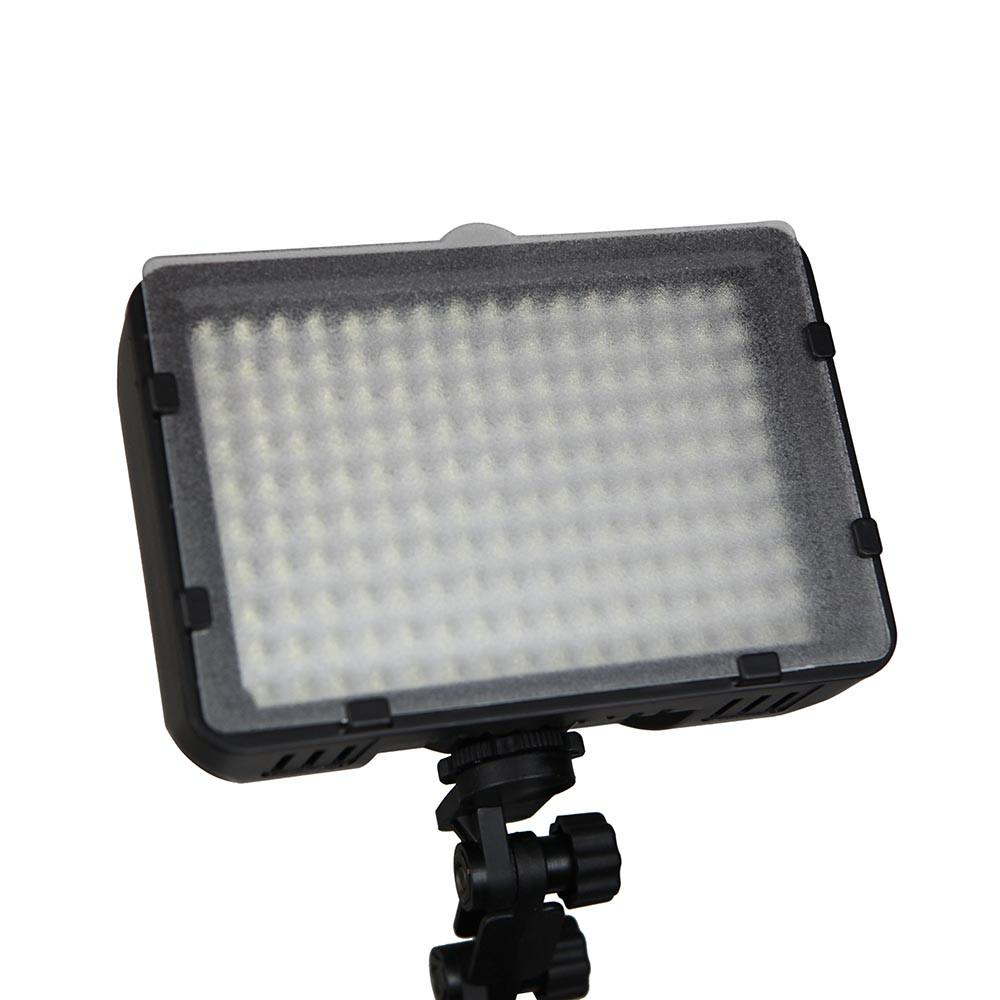 Hypop 160 Piece LED Camera Video Light (Filters Included)