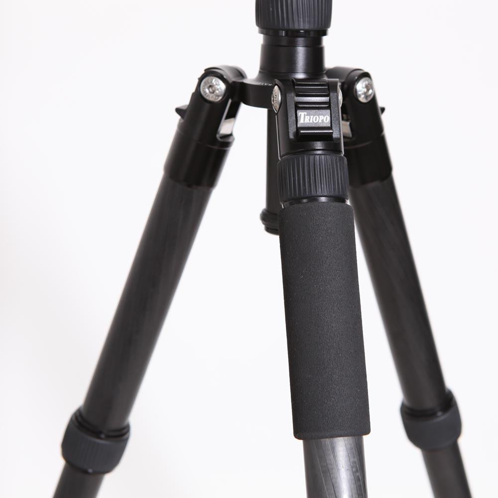 Triopo GT-2805X8.C Carbon Fibre Professional Travel Tripod with B-2 Ball Head