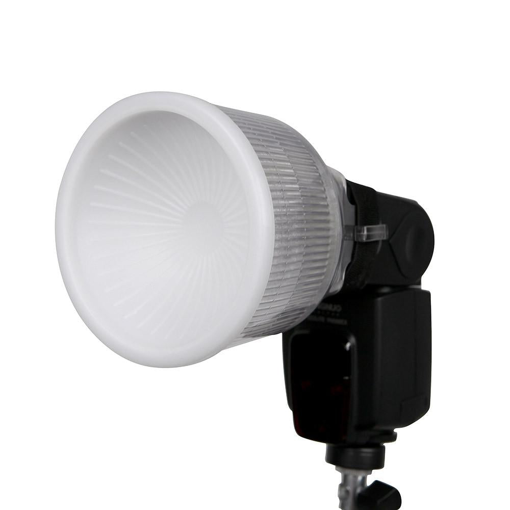 Hypop Professional Lambency Flash Diffuser Clear