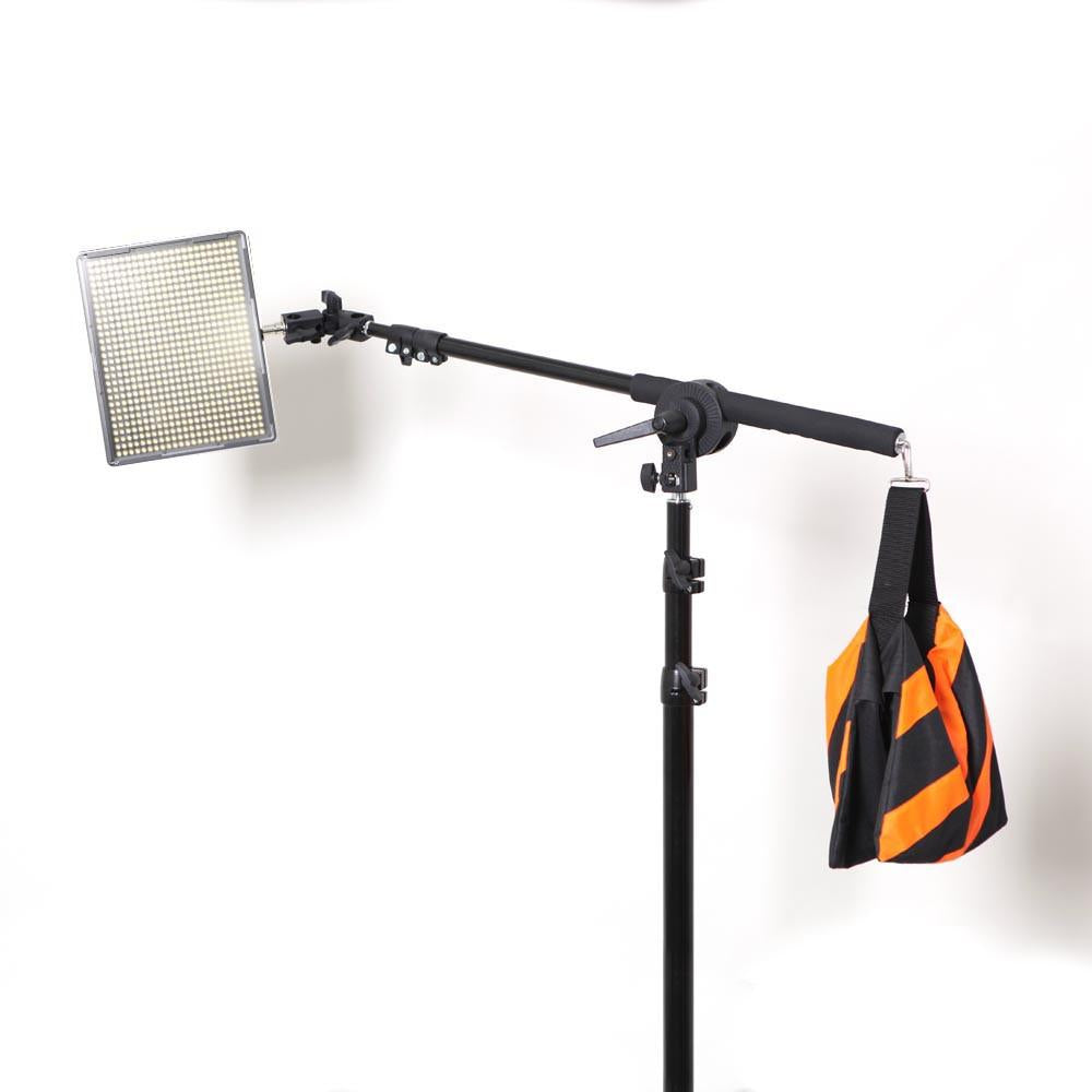 ... Hypop Professional LED Photo Video Continuous Portable Lighting Boom Kit u0026 Backdrop Set (Large) ...  sc 1 st  Hypop & Professional LED Photo Video Portable Lighting and Backdrop Kit