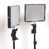 Aputure 4x LED Professional Photo Video Continuous Portable Lighting Kit with Backdrop Set (Medium)