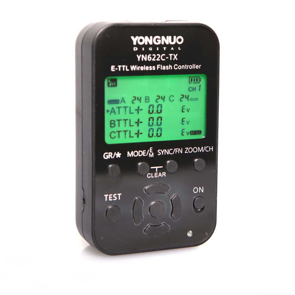 Yongnuo Complete Wireless TTL HSS Flash Control Kit For Canon