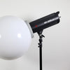 Jinbei EF200 V 200W Continuous LED Softball Portrait Flash Lighting Kit