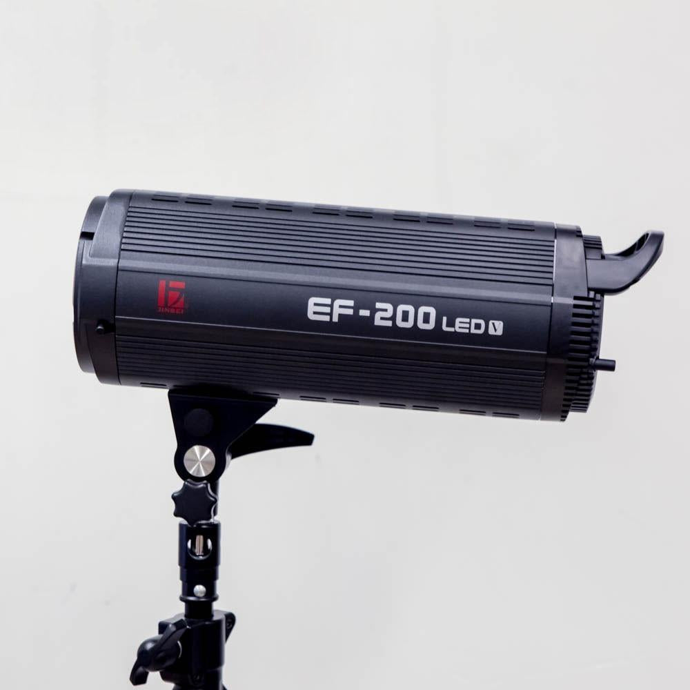 Jinbei Professional EF200 5600K Monoblock Style Continuous LED Light Head (Demo) exclude