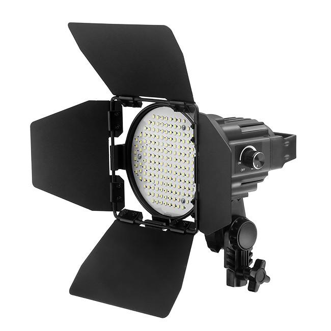 Jinbei EF-50 LED Continuous Photo Video Spot Light with Barndoor exclude