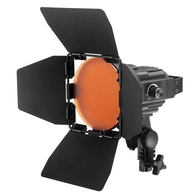 Jinbei EF-50 LED Continuous Photo Video Spot Light with Barndoor
