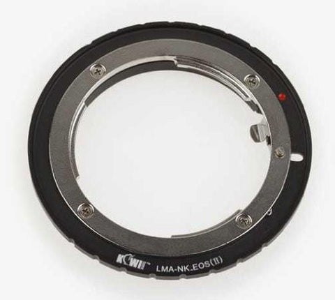 JJC for Nikon F Mount lens on Canon EOS film/digital SLR Camera Body exclude