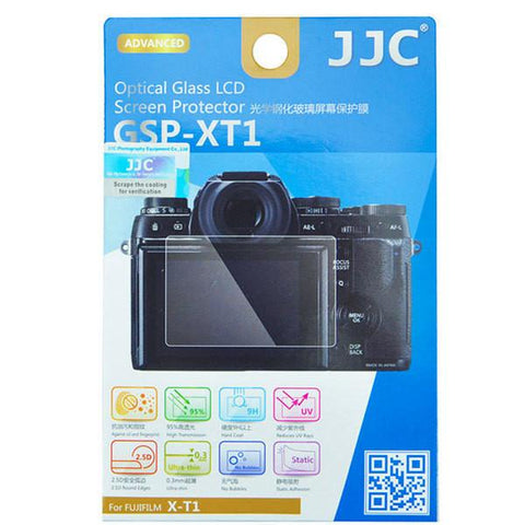 JJC 0.3mm 9H Optical Tempered Glass Protector for Fujifilm X-T1,X-T2 exclude
