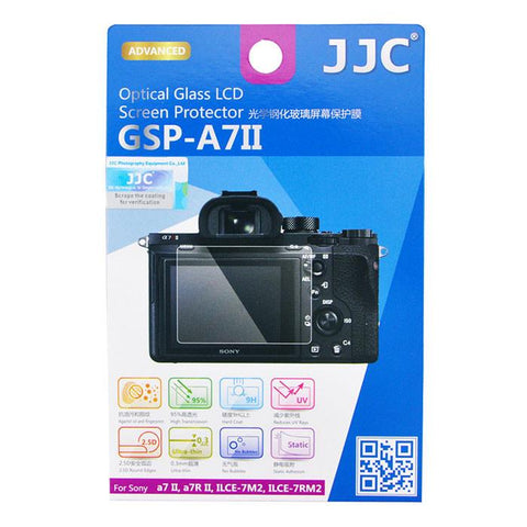 JJC GSP-A7II Tempered Optical Hard Glass Camera Screen Protector for Sony A7II A7RII A7SII