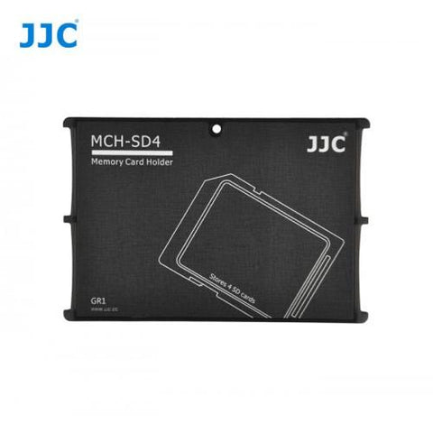 JJC MCH-SD4 Black 4 SD Memory Card Holder exclude