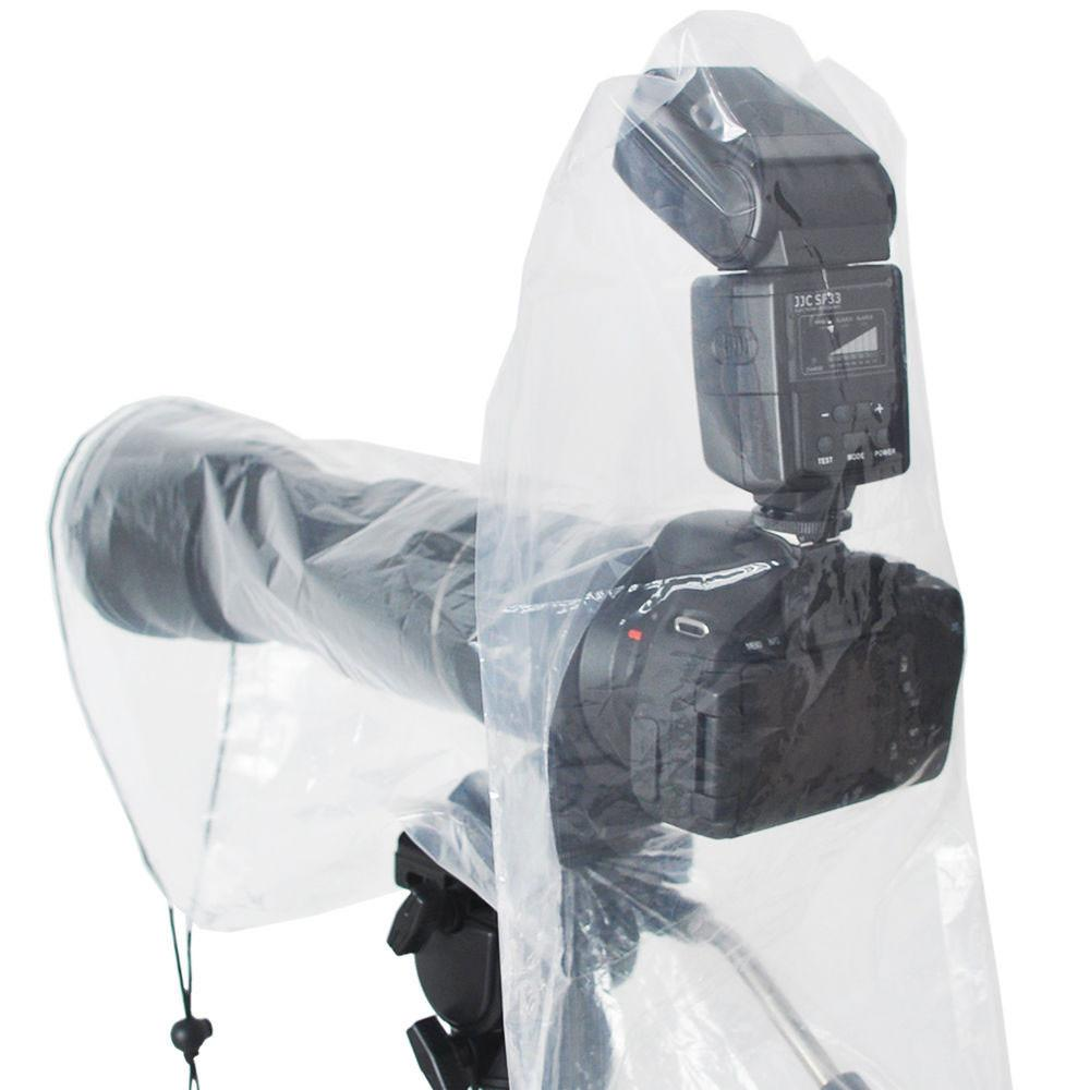 "JJC RI-6 18"" x 7"" Waterproof Rain Cover Protector for Camera with Lens & Flash"