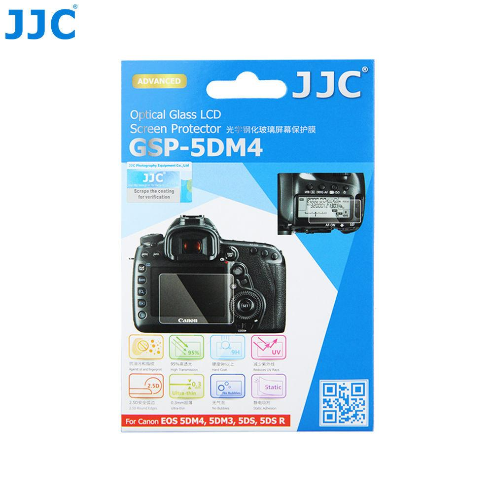 JJC GSP-5DM4 Ultra-Thin Optical Glass LCD Screen Protector for Canon 5DM3/5DM4/5DSR/5D3/5D4