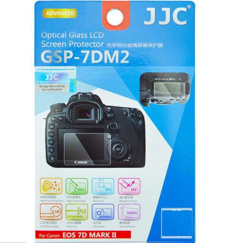 JJC GSP-7DM2 Ultra-Thin Optical Glass LCD Screen Protector for Canon EOS 7D MARK II exclude