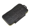 JJC MC-SD12 Water Resistant Heavy Duty Shock Proof Memory Card Storage Case for 12 SD Cards