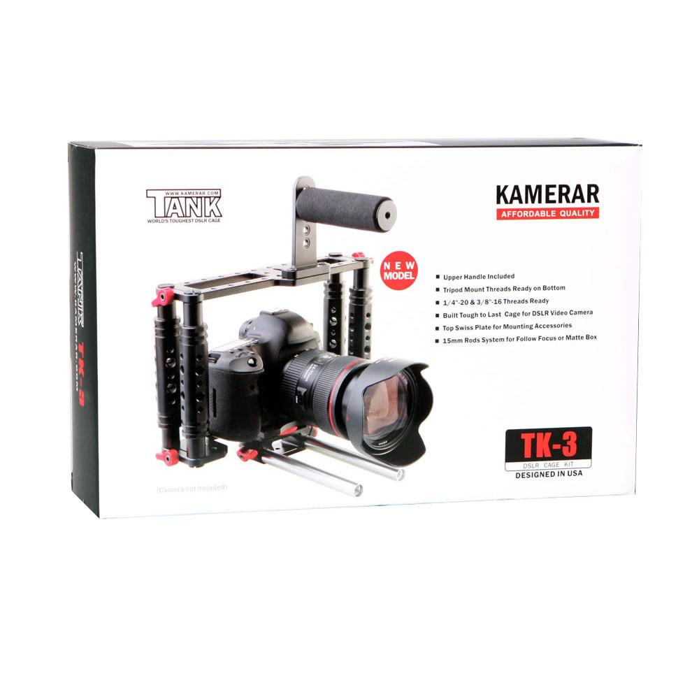 Kamerar Tank TK-3 Camera Cage with Swiss Support Rods Only exclude