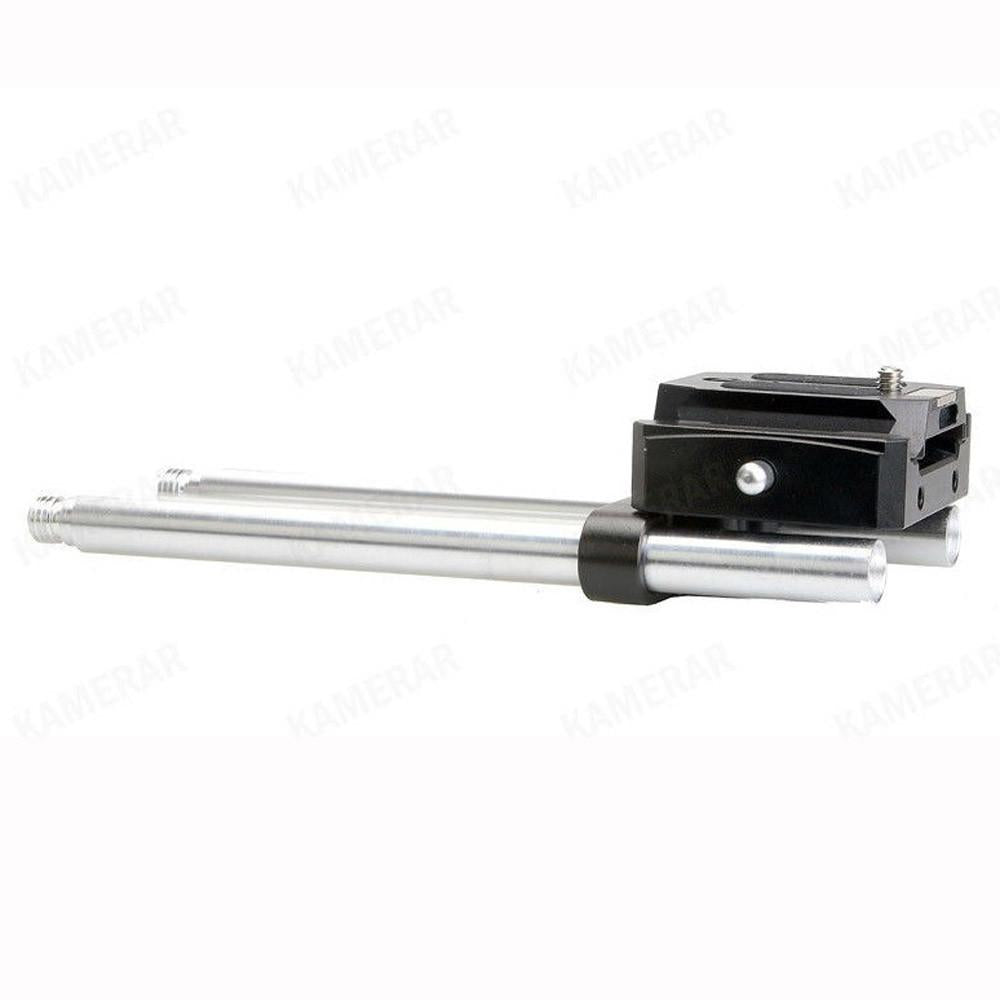 Kamerar Uni BasePlate BP-2 Quick Release System with Rods Support
