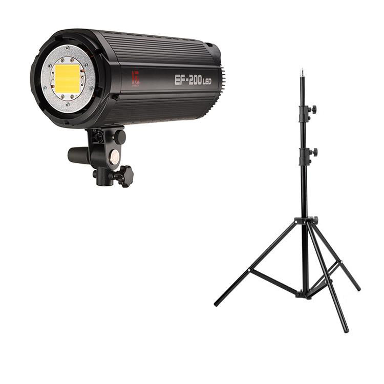 Jinbei 2 x EF200 V (400W) Continuous LED Photo & Video Lighting Kit
