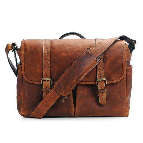 ONA Brixton Camera/Laptop Messenger Bag (Antique Cognac - Leather) ONA5-013LBR exclude